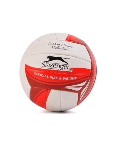 Slazenger Kırmızı-Beyaz Voleybol Topu Kırmızı